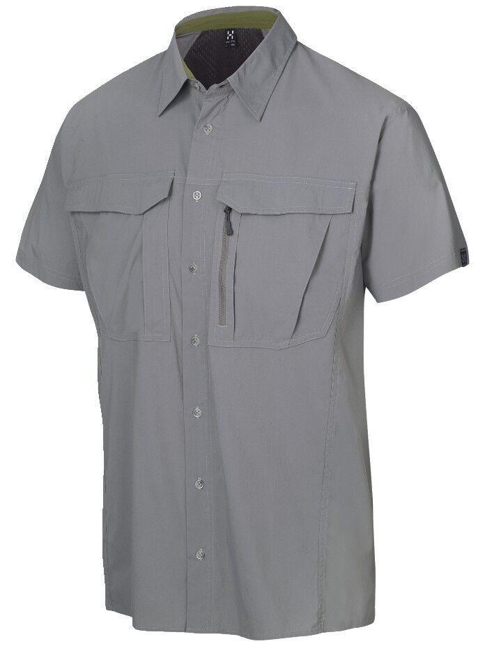 Haglöfs Function Shirt Salo II SS Shirt,Size M,  Granite  good price