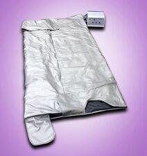 New Spa Detox Digital 3 Zone Far Infrared FIR Sauna Slimming Blanket Weight Lose