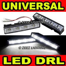 Xenon White 4 LED Daytime Running Light DRL Day Driving Lamp Daylight Kit C15