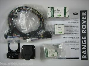0305 Range Rover Towing Tow Trailer Electrics Wiring Harness Kit