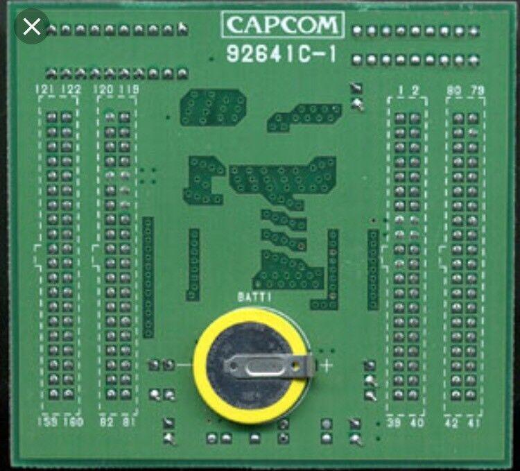 Remplacement Pile Suicide Batterie CPS1 Capcom Borne Arcade 3v SAFT Battery