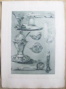 DOCUMENTS-DECORATIFS-par-A-MUCHA-1902-Planche-65-ART-NOUVEAU-Originale-RARA
