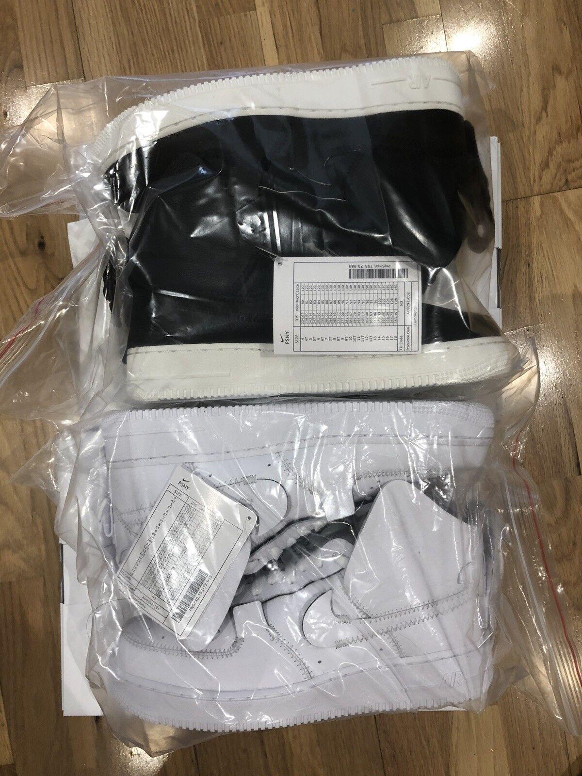 PSNY X Nike Air Force 1 Brand New Black Man Size US9