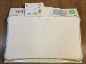Wii Fit Balance Board and Game (Nintendo Wii, 2014) Great Condition Gently Used