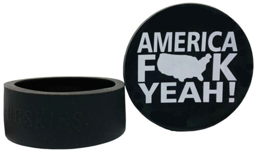 America DC Skin Snuff Cover Waterproof Protective Skins for Dip Chew Cans