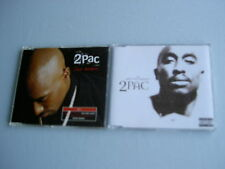 2PAC job lot of 2 CD singles Dear Mama Ghetto Gospel
