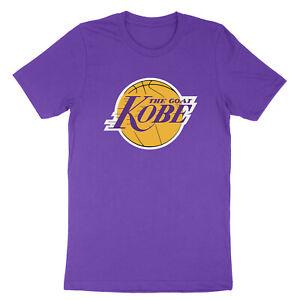 Los-Angeles-The-Goat-Kobe-Bryant-Lakers-Black-Mamba-Logo-LA-Unisex-T-Shirt