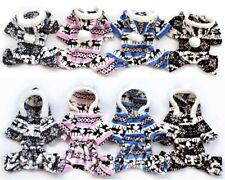 Pet Puppy Warm Clothes Sweater Dog Cat Hoodie Jumpsuit Cute Coat Outwear Jacket