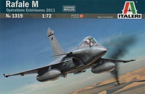 Italeri 1319 Dassault Rafale M Operations Exterieures 2011-1:72