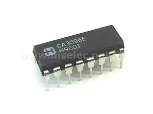 CA3096E  5 NPN//PNP transistor array,CA3096E DIP14