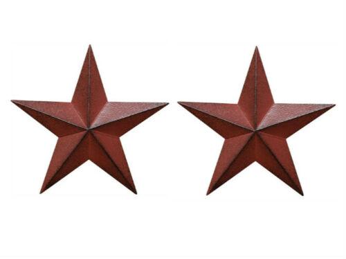 """Искусственно состаренная страна красный черный бордовый сарай звезда страна примитивные стены декор 8/"""""""