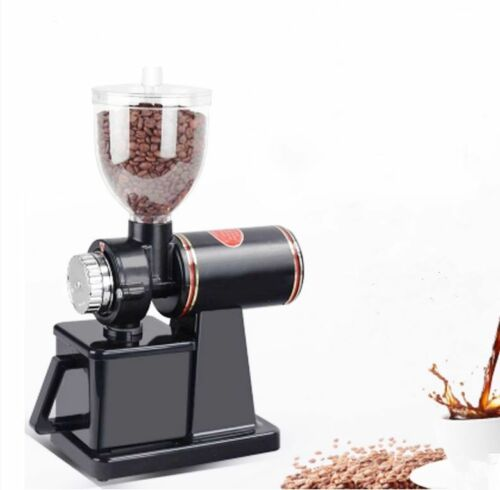 220V 120g//min Commercial Coffee Bean Grinder Home Electric Burr Grinding Machine