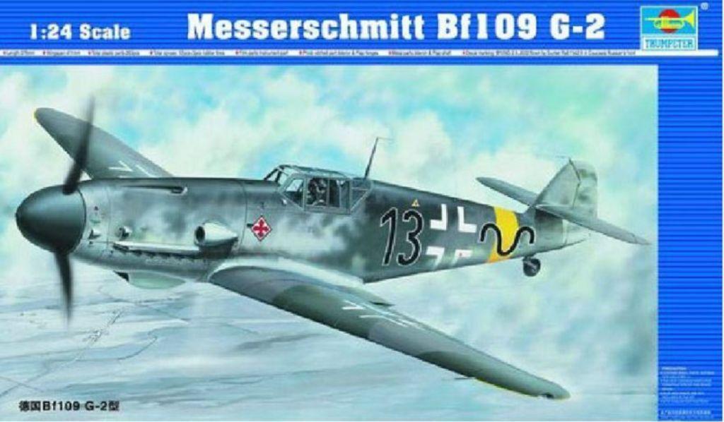 ◆ Trumpeter 1 24 02406 Messerschmitt Bf109 G-2 model kit