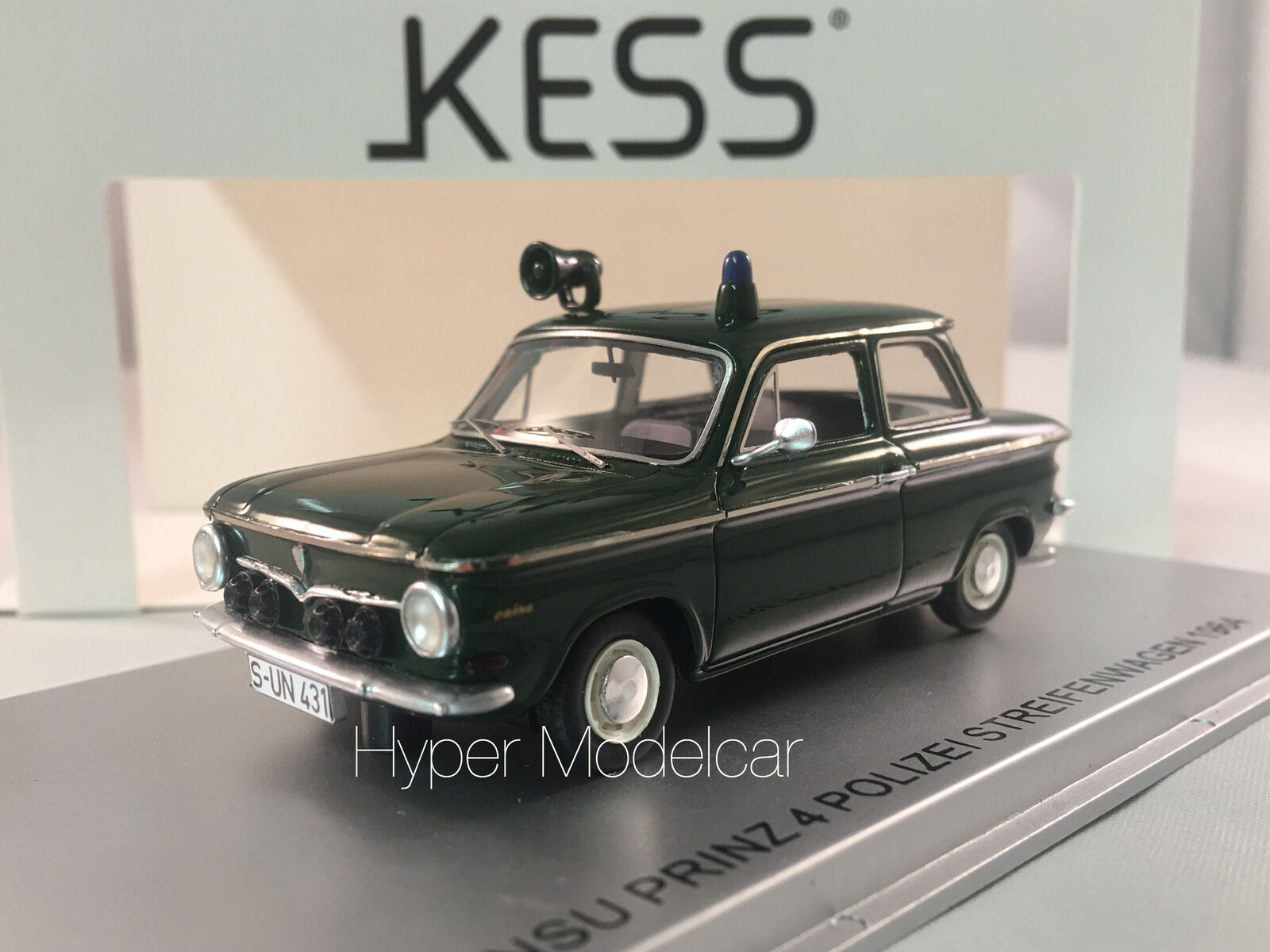 varie dimensioni KESS modello modello modello 1 43 NSU PRINZ 4 POLIZEI STREIFENWAGEN 1964 ART. KE43023001  il prezzo più basso