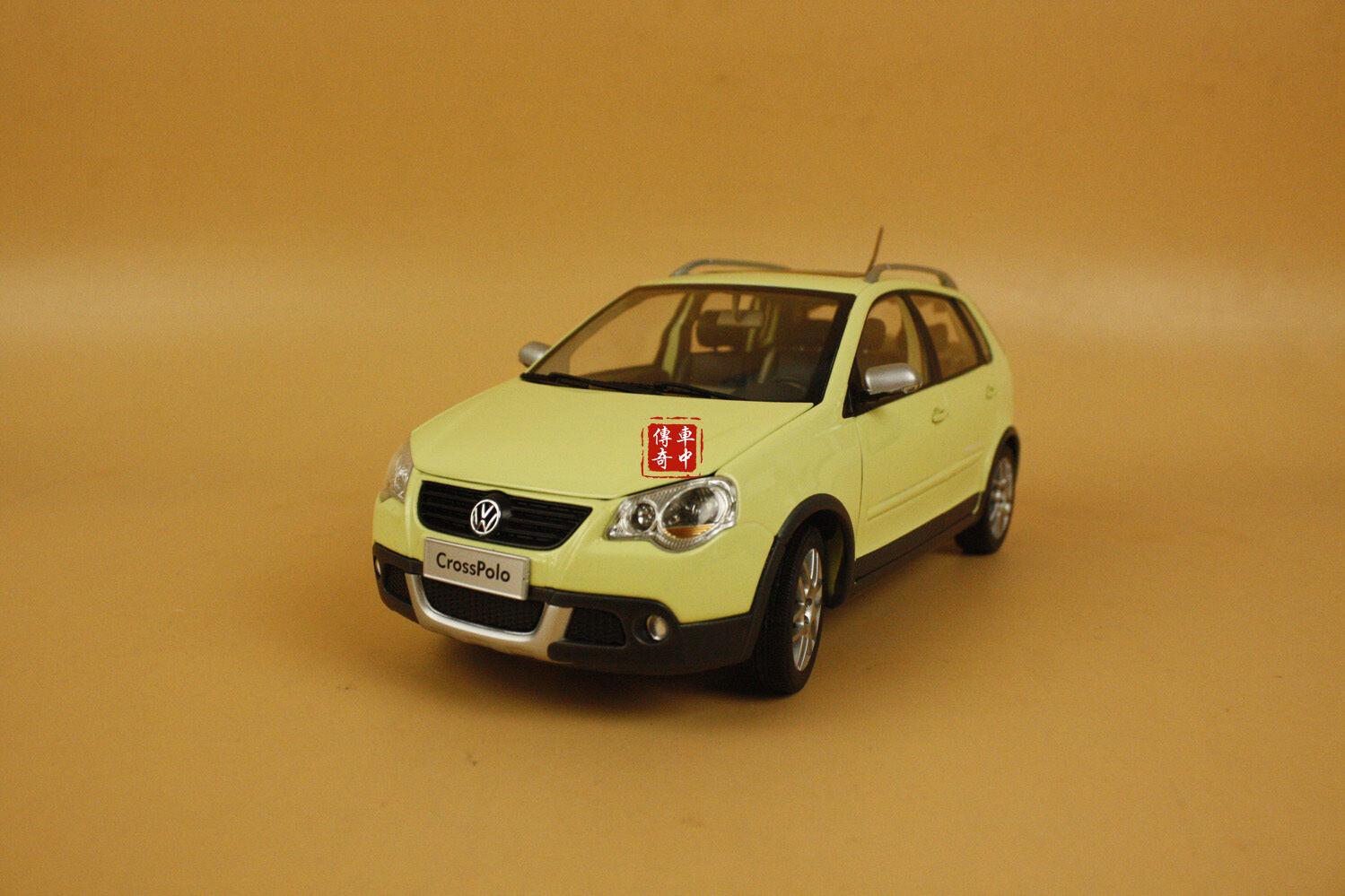 1 18 Vw Volkswagen Cross Polo 2014 Nuevo Modelo