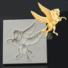 Pegasus Horse Silicone Fondant Mould Cake Decor Chocolate Gumpaste Sugarcraft
