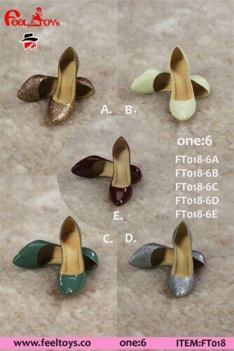 """Feeltoys FT018 1//6 Female High Heels Shoes Boots Model Toy for 12/"""" Figure Body"""