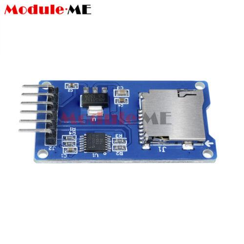 2PCS Micro SD Storage Board Micro SD TF Card Memory Shield Module SPI Arduino MO