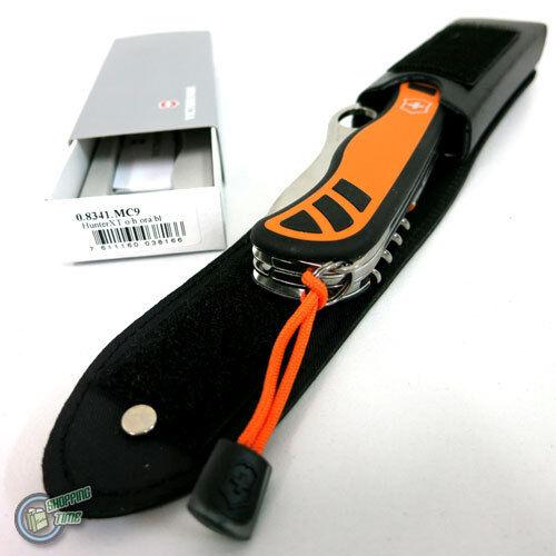 Victorinox Swiss Army Knife 35456 0.8341.MC9 Hunter XT + Funda 05612 4.0523.3