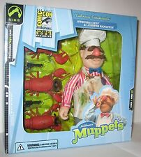 The Muppet Show Swedish Chef & Lobster Banditos Palisades Figure SDCC MISB