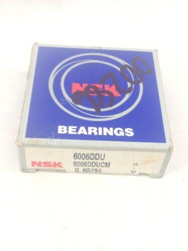 A800 NSK  6006DDU NS7S5 DBL SEAL DEEP GROOVE BALL BEARING 6006DDUCM