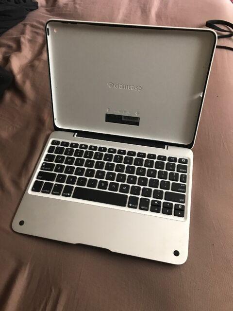 best website cdf66 ea970 Incipio ClamCase Pro for iPad Air 2 Aluminum/white C61001WS