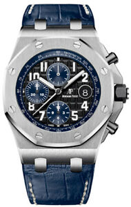 454942ad7cc3 Image is loading Audemars-Piguet-Royal-Oak-Offshore-Black-Blue-Midnight-