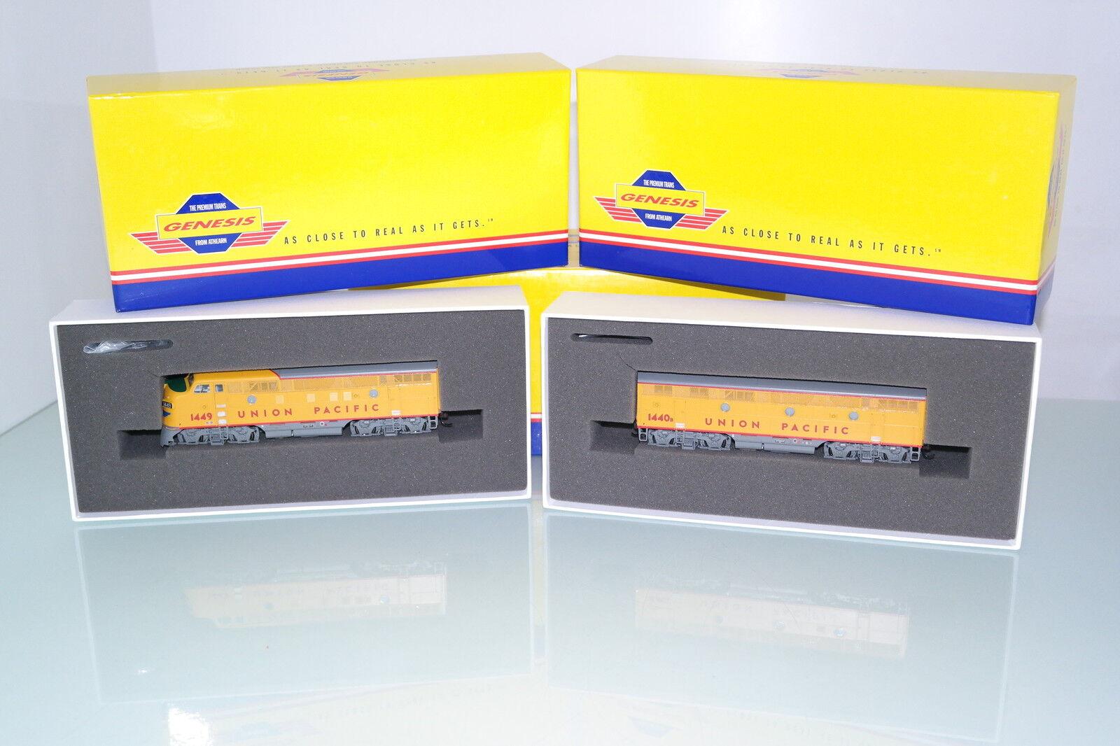 Genesis us diesellok f3 a + b unidad ambos DCC a con sonido  u p  (jm315) embalaje original.