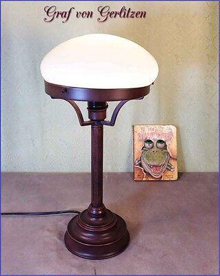 Jugendstil Schreibtisch Lampe Bürolampe Pilzlampe Pilz Lampe Tischlamp GN211