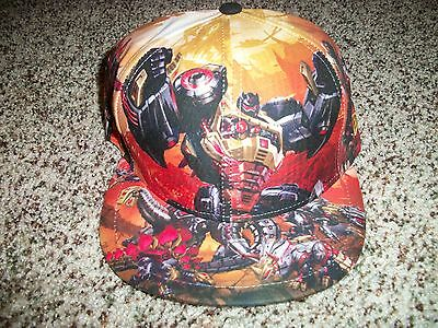 17d2e40de16 TRANSFORMERS Fall of Cybertron New NWT Mens 7 3 4 Hat Cap New Era Fitted