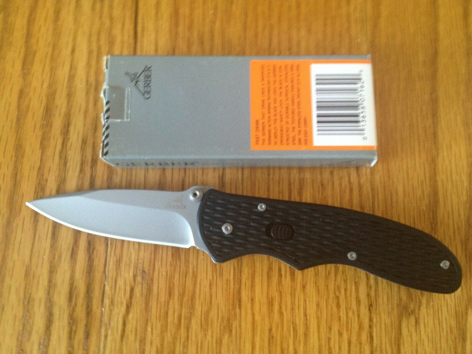 GERBER FAST DRAW  ASSISTED OPENING KNIFE FINE  EDGE NEW BOX  offering store