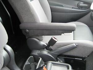 Comfort-Armlehne-Stoff-anthrazit-034-lang-034-Opel-Vivaro-Renault-Trafic-II