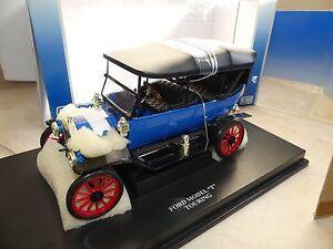 Ford Model T Touring Bleu Universal Hobbies 1:18 Défaut