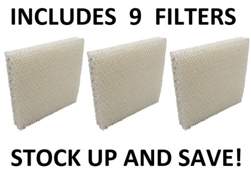 9 Pack Humidifier Filter for Honeywell HAC-801 HAC801 HCM-3060 HCM-88C