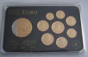 Details Zu Original Kms Vatikan 2009 Mit Gold Papst Benedikt Xvi Euro Münzen