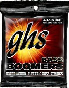 GHS Bass Boomers L3045 Light Standard Long Scale Bass Guitar Strings 40-95