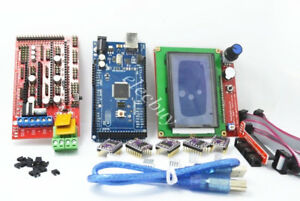 3D Printer RAMPS 1.4 Mega2560 12864 LCD Controller DRV8825 for Arduino Reprap