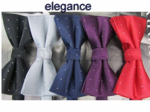 High-quality Tuxedo Adults Necktie Adjustable Man Bow-ties 5pcs Mixed Lot
