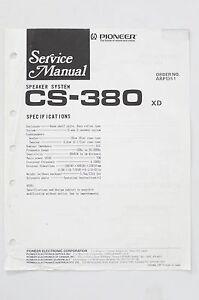 Pioneer-CS-380-Original-Speaker-System-Service-Manual-Guide-WIRING-DIAGRAM