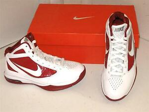 Nike Air Max Destiny TB Basketball White   Red Sneakers Athletic ... eb9523493