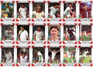 AC Milan champions league football 2003 Trading Cards
