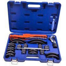 Tube Pipe Bender Hvac Refrigeration Ratchet Hydraulic Deburring Tool Kit