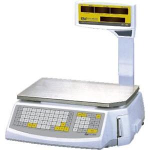 EasyWeigh-LS-100-Price-Computing-Scale-w-Printer-30-60-x-0-01-0-02-lb-dual-range