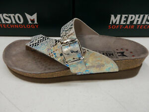 a1fb7915a5e Image is loading MEPHISTO-WOMENS-HELEN-MULTI-COLOR-QUEENIE-SIZE-EU-