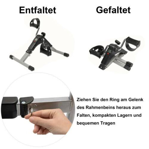 Mini Bike LCD Arm Beintrainer Heimtrainer Trainer Pedaltrainer Fitness Fahrrad