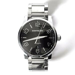 MONTBLANC-Timewalker-Mens-Stainless-Steel-Automatic-Watch-9672-MSRP-3-895