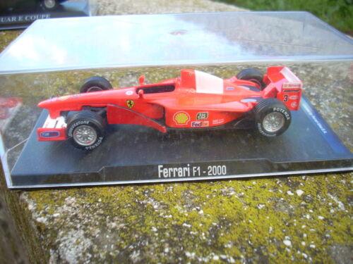 DIE CAST FERRARI F1 2000 scala 1\43