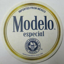 MODELO ESPECIAL CERVEZA, Now On Draft Beer COASTER, Mat with LION, MEXICO