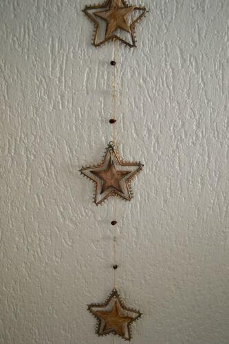 edler Deko Hänger Stern Girlande 110 cm  Weihnachten Advent Weihnachtsdeko