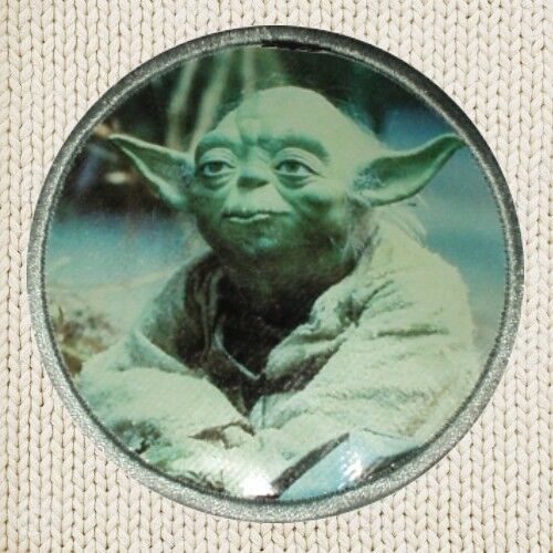 Yoda Patch Picture Embroidered Border Star Wars The Return of the Jedi Skywalker